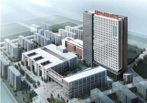 阜新市中心医院体检中心鸟瞰图