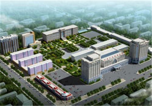 阜新市矿业集团公司总医院体检中心鸟瞰图