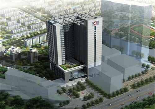 南宁第二人民医院体检中心鸟瞰图