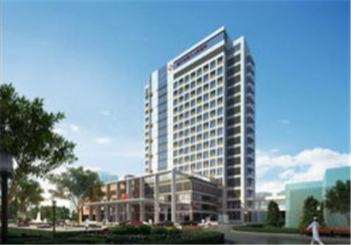 柳州中西医结合医院体检中心大楼