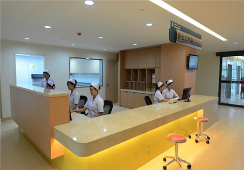 柳州工人医院体检中心护士站