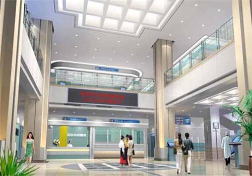 桂林医学院附属医院体检中心服务大厅