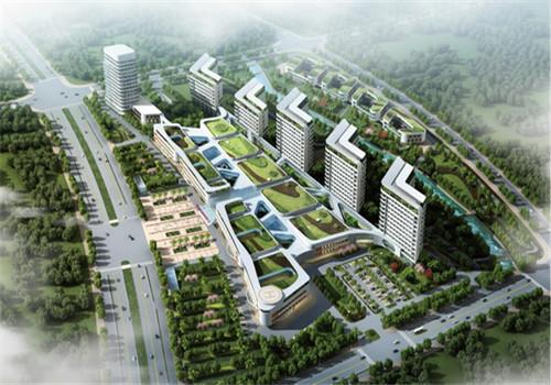 桂林人民医院体检中心鸟瞰图