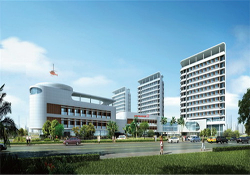 桂林人民医院体检中心沿街透视图