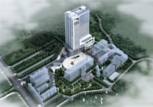 钦州第二人民医院体检中心鸟瞰图