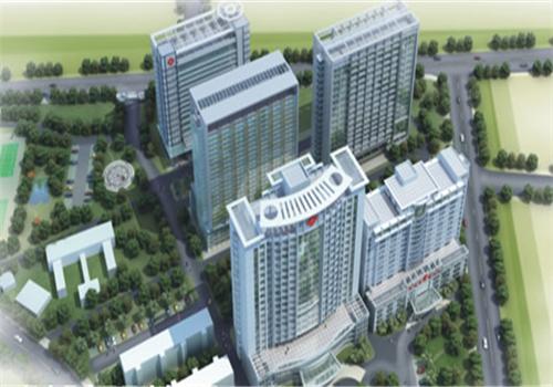 灵山县人民医院体检中心鸟瞰图