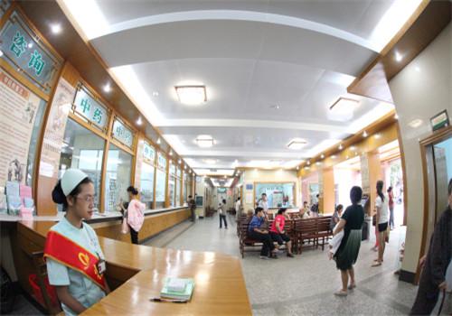 钦州中医医院体检中心内部环境