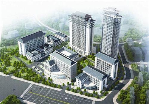 黄石中医医院体检中心鸟瞰图