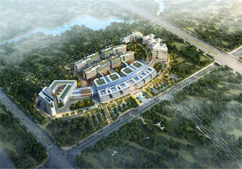 襄樊中心医院体检中心鸟瞰图