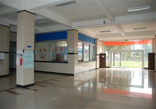 襄樊中心医院体检中心大厅