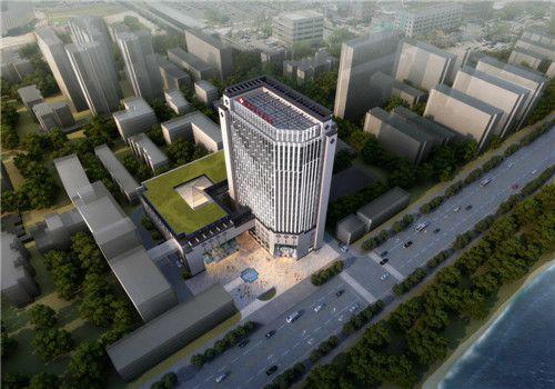宜昌市中医院体检中心鸟瞰图
