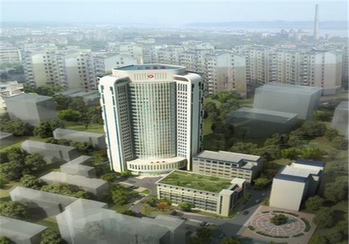 三峡大学仁和医院体检中心鸟瞰图