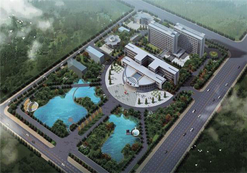 洪湖人民医院体检中心鸟瞰图