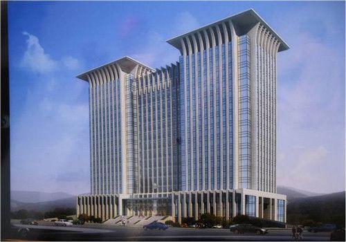 鄂州中心医院体检中心大楼