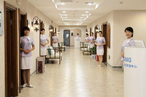 湖南仁术熙康健康管理中心走廊