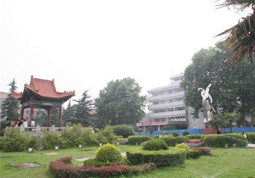 陕西人民医院体检中心院内环境
