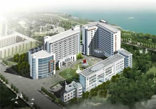 黔南州中医院体检中心鸟瞰图
