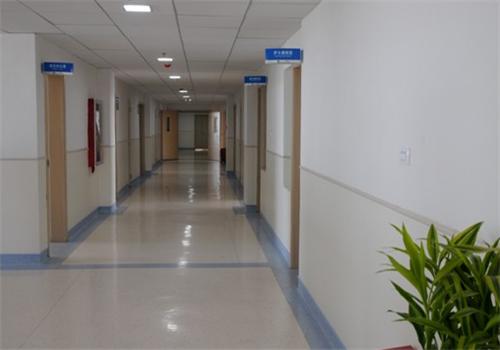 贵航集团三0二医院体检中心走廊