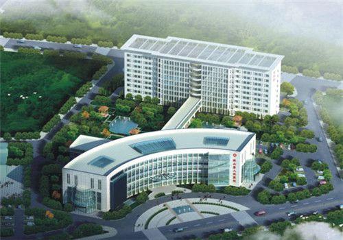 英山县人民医院体检中心鸟瞰图