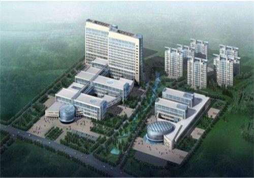咸宁中心医院体检中心鸟瞰图