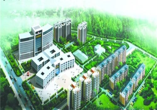 通山县人民医院体检中心鸟瞰图