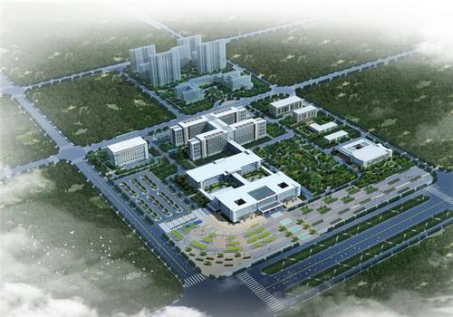 仙桃市第一人民医院体检中心鸟瞰图