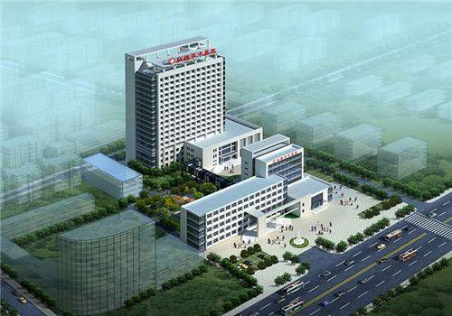 仙桃市中医院体检中心鸟瞰图