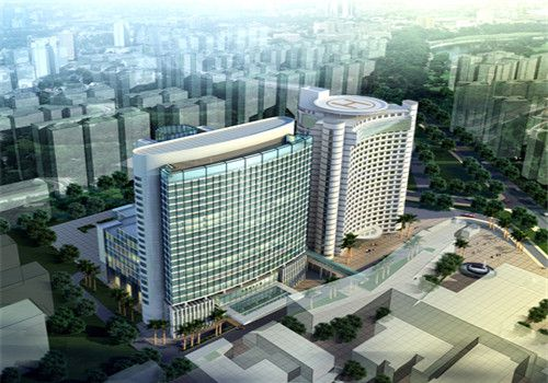 深圳第二人民医院体检中心外景