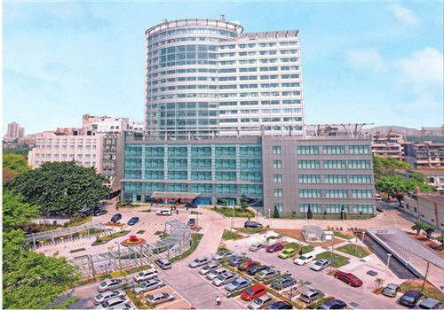深圳宝安区人民医院体检中心外景
