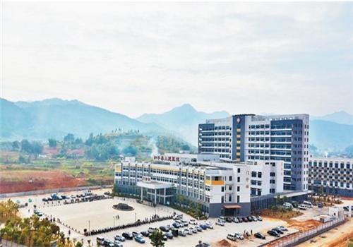 和平县人民医院体检中心全景图