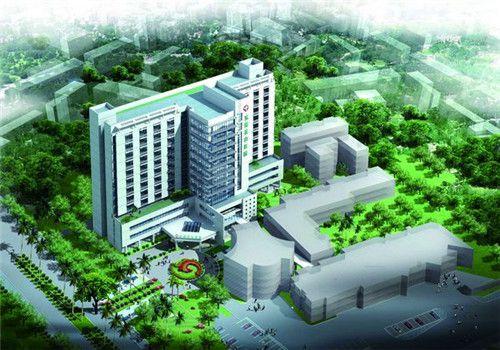 东莞茶山医院体检中心鸟瞰图