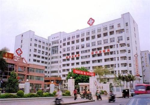 东莞长安医院体检中心外景
