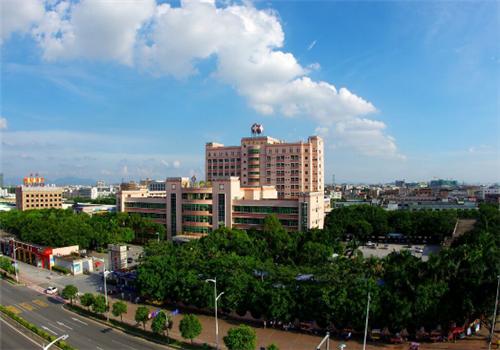东莞石排医院体检中心外景