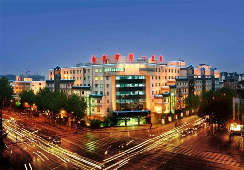 南京市第一医院体检中心夜景