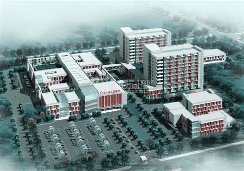 南京溧水区人民医院体检中心鸟瞰图