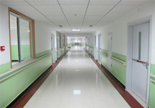 保定涿州市医院体检中心走廊