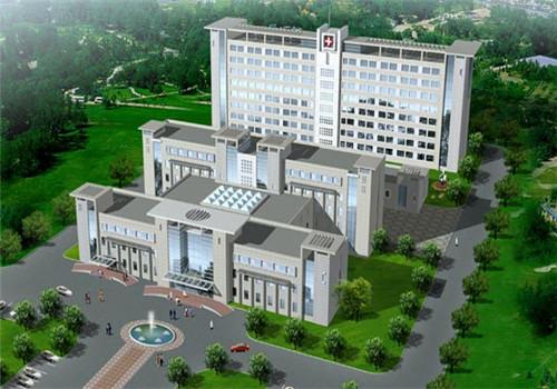 保定蠡县医院体检中心俯瞰图