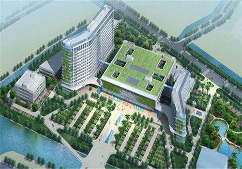 平阳县人民医院体检中心鸟瞰图