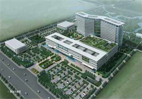苍南县人民医院体检中心鸟瞰图