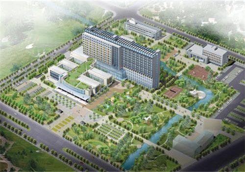 海盐县人民医院体检中心鸟瞰图