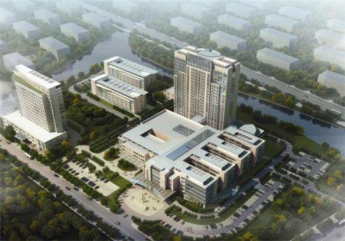 绍兴第六人民医院体检中心鸟瞰图