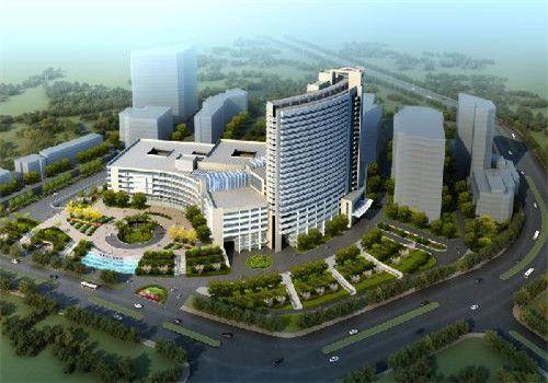 江蘇人民醫院體檢中心鳥瞰圖
