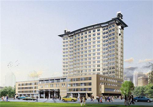 常德市第一人民医院体检中心外景