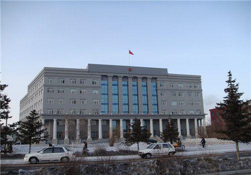 牙克石市人民医院体检中心大楼