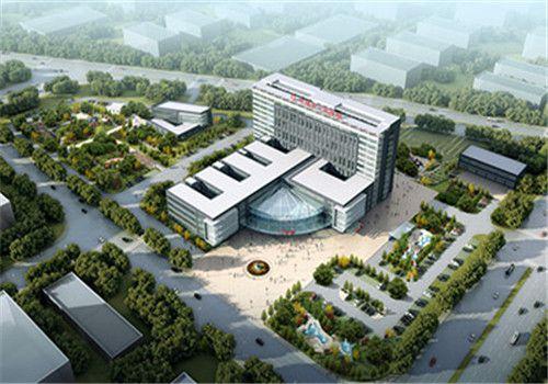 丰镇市人民医院体检中心鸟瞰图