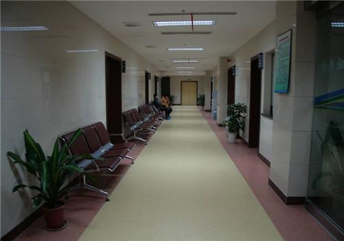 江苏省老年医院体检中心走廊