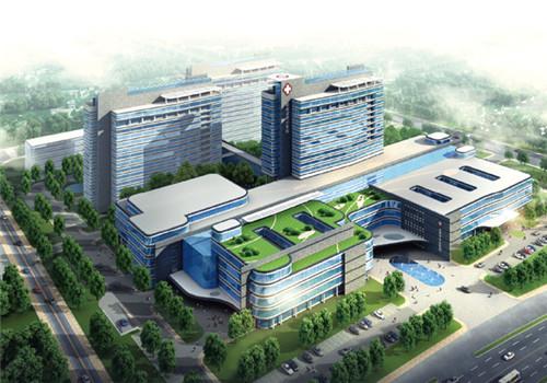 徐州市第四人民医院体检中心鸟瞰图