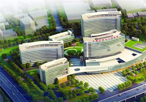 东南大学附属中大医院无锡分院体检中心鸟瞰图