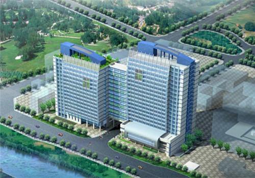 东南大学医学院附属江阴医院体检中心鸟瞰图