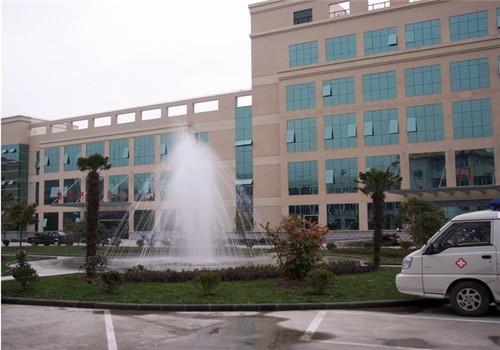 海门市人民医院体检中心喷泉